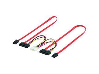 Internes Stromkabel, 2x SATA Daten+power Kombikabel