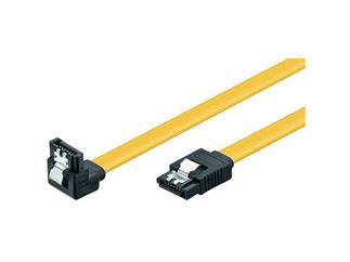 HDD S-ATA Kabel 1.5GBs / 3GBs / 6GBs, S-ATA L-Type > L-Type 90°