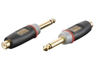 Xcaliber Adapter Mono Klinke 6,3mm male auf Cinch female