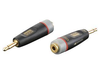 Xcaliber 2 pol Miniklinke 3,5mm Male auf 3 pol Miniklinke 3,5mm Female