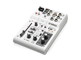 Yamaha AG03 3-Kanal Mixer mit USB-Audio Interface