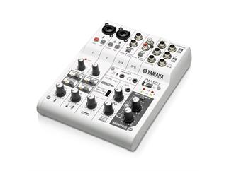 Yamaha AG06 6-Kanal Mixer mit USB-Audio Interface
