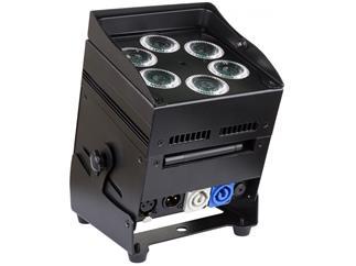 JB Systems - ACCU Color, schwarz- 6 x 10W RGBWA LED