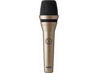 AKG D5 LX Dynamisches Gesangs- und Sprachmikrofon, Superniere