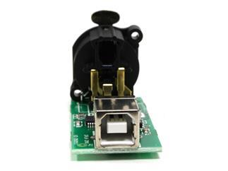 ENTTEC DMX USB OPEN ASSEMBLED WIDGET, DMX-Platine, fertig bestückt