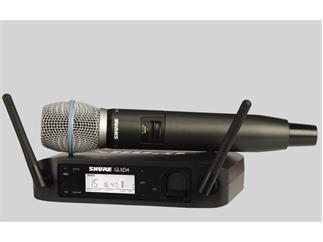 SHURE GLXD24E / B87 Beta 87  Handsender digital 2,4 Ghz