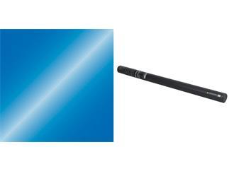 Showtec Handheld 80cm Konfetti Streamer/Luftschlangen Blue Metallic