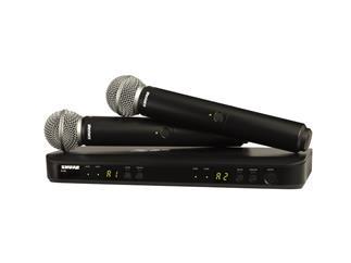 SHURE BLX288E / SM58 T11 Doppelempfänger mit zwei SM58 863 bis 865 Mhz ISM