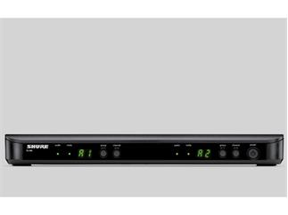 Shure BLX88E S8 Doppelempfänger für PG, SM und Beta Serie 823 bis 832 Mhz Duplexlücke