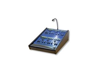 ChamSys MagicQ Playback Wing MKII, blau 24 LCD-beschriftete Fader
