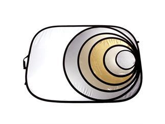 Lastolite LL L R2034 Rundreflektor Silber/Gold 50cm