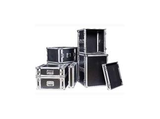 "19"" Rack - Flightcase 8 HE, Double Door"