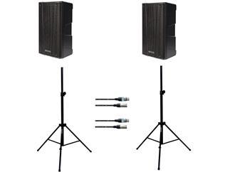 dB Technologies B-Hype 8 Stereo Set mit Stativen und Kabeln