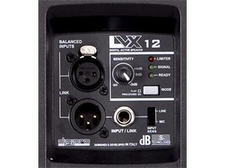 DB Technologies LVX 12 Aktivbox digital, schwarz