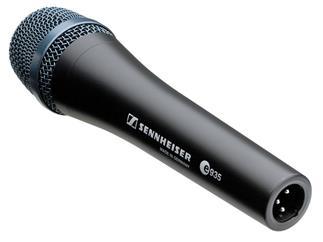 Sennheiser E 935 dyn. Gesangsmikrofon, Niere speziell für laute Bühnenbedingungen