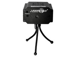 Laserworld EL-100RG MICRO RC Sterneffektlaser inkl. Fernbedienung