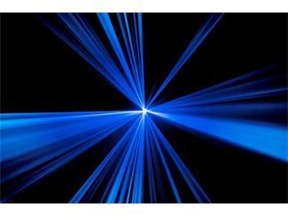 Laserworld ES-600B, blau, DMX, Sound