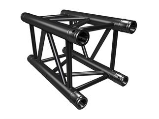 Global Truss F34P-Version 25cm, BLACK, 4-Punkt Truss, inkl. Verbinder