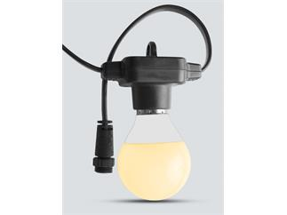 ChauvetDJ Festoon VW, Lichterkette m Pixelmapping, IP43, Controller und 15meter mit 20 VW Lampen