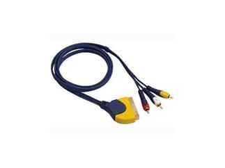 Scart Plug to 3 RCA Connector 150cm Home-Thea