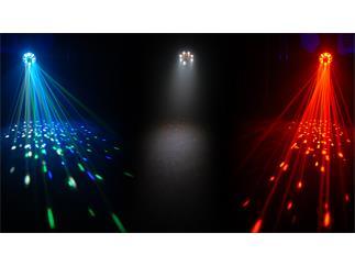 ChauvetDJ Swarm 5 FX, RGBAW Derby, Laser, Strobe