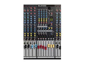 Allen & Heath GL2400-432, 30 Inputs, 2 Stereo, 4 Subgruppen