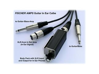 Fischer Amps Guitar In Ear Cable 10m inkl Mini Bodypack XLR