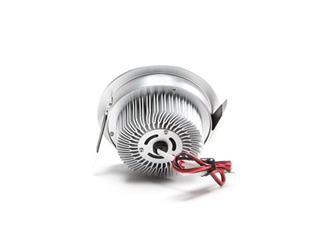Kapego Deckeneinbauleuchte LED 6W, 3000K, aluminium gebürstet