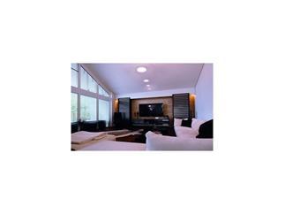 Kapego Wand-/Deckenaufbauleuchte silber 2700K, 80 LEDs Flat 10, 24-27V DC, 350 mA, 10,00 W