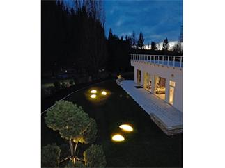 Dekorative Leuchte, Steinleuchte I E27 Outdoor IP65