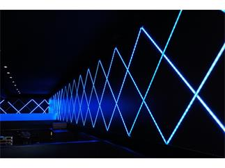 Flexibler LED Stripe 5050 SMD 24V 15 m RGB