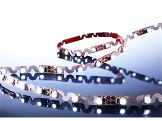 Flexibler LED Stripe, 3528, SMD, Kaltweiß, 24V DC, 27,00 W