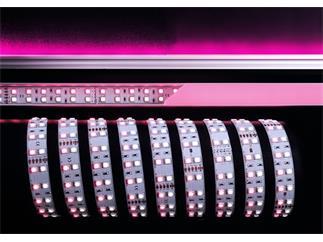 Flexibler LED Stripe, 5050, SMD, RGB + Kaltweiß 24V DC, 86,40 W, 3 m