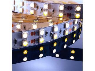 Flexibler LED Stripe, 5050, SMD, Warmweiß + Kaltweiß, 24V DC, 86,40 W