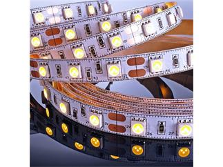 Flexibler LED Stripe, 5050, SMD, Warmweiß, 12V DC, 43,20 W