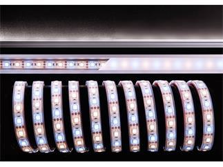 Flexibler LED Stripe, 5050, SMD, Warmweiß + Kaltweiß, 12V DC, 72,00 W