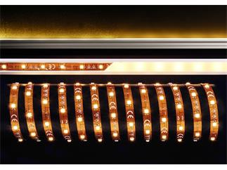 Flexibler LED Stripe, 5050, SMD, Warmweiß, 12V DC, 36,00 W