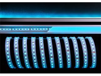 Flexibler LED Stripe 5050 SMD 24V  5 m RGB 2500 lm