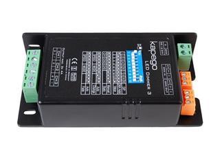 Kapego LED Dimmer 3, max 12A, 3 Kanäle, 144W/12V oder 288W/24V, DMX, DV 512