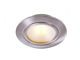 LED COB Möbeleinbauleuchte Alu gebürstet, 3W, rund
