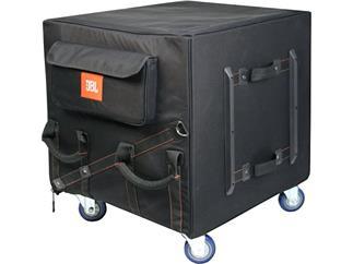 JBL EON SUB 18 Transporttasche mit Fächern und Ausschnitt für die Rollen