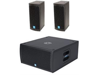 KME Versio SD1, 2 x VLX 2 + 1 x VSS 28  800 Watt