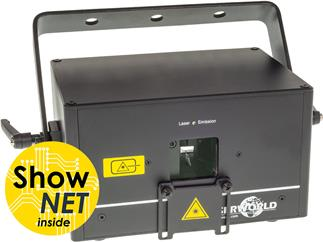 Laserworld DS-1000RGB mit ShowNET Interface und ShowEditor Lizenz