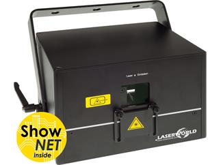 Laserworld DS-2000RGB mit ShowNET Interface und ShowEditor Lizenz
