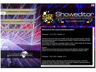 Laserworld ShowNET LAN Interface inkl. PSU und SDKarte, inkl. ShoweditorSoftware