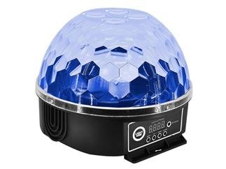LIGHT4ME  LED Dome Gobo-Flower Kugel, 8x3W RGBW