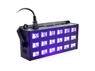 LIGHT4ME LED UV 18x3W Fluter und Stroboskop DMX