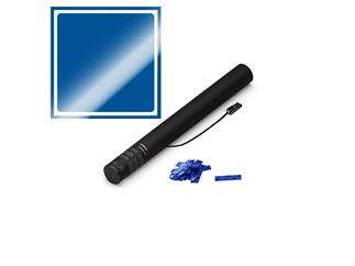 MAGICFX® Elektrische Konfettikanone, 50cm, Blau Metallic