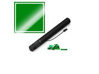 MAGIC FX Elektrische Konfettikanone, 50cm, Grün Metallic