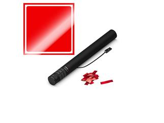 MAGICFX® Elektrische Konfettikanone, 50cm, Rot Metallic